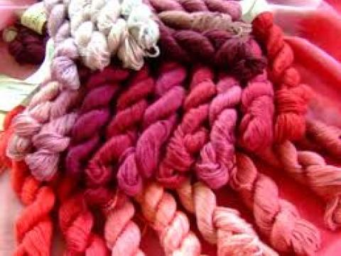 cochineal wools